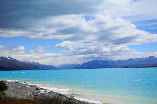 Canterbury Region, Νέα Ζηλανδία: 普卡基湖