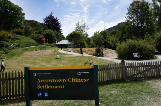 Arrowtown Chinese Settlement: 华人定居点