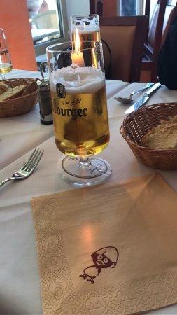 Bingen am Rhein, Germany: 意大利餐厅,超棒的甜品,帅帅的小伙儿