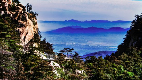 Fei County, China: 沂蒙山