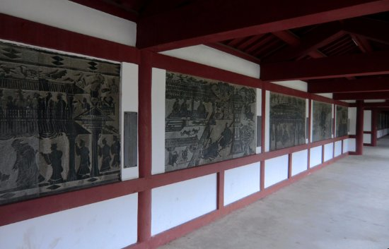 Ma'anshan, Cina: 用画像石形式介绍朱然生平