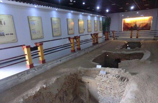 Ma'anshan, China: 朱然家族墓室