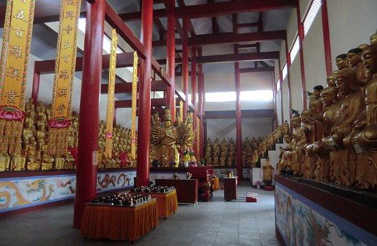 Fengyang County, China: 这里竟然也有五百罗汉