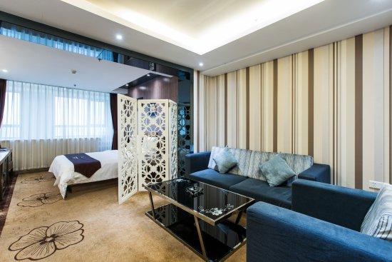 Weihai, Kina: 商务房单床