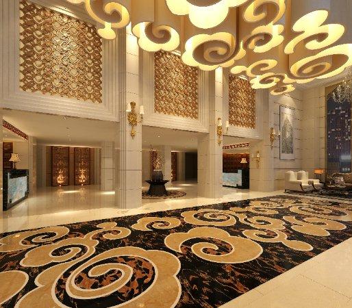 Guanghan, China: 新滨江酒店