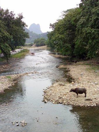 Fuchuan County, China: 秀水状元村