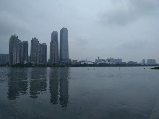 Changsha, Çin: 梅溪湖灯会