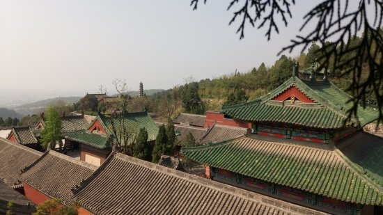 Bo'ai County, China: 月山寺