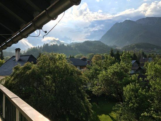 Bad Goisern, Austria: 酒店窗外