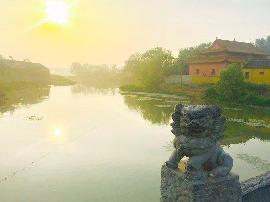 Hanshan County, China: 江淮桥远景