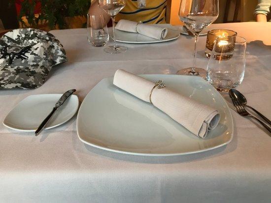 Restaurant Esszimmer: 不能吃的