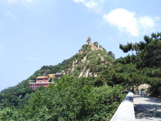 Ji County, China: 盘山风景区