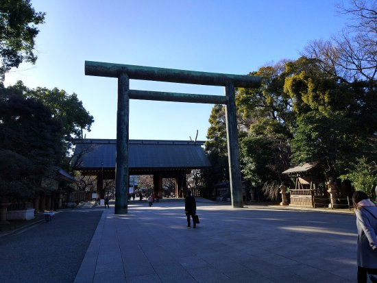 Yasukuni Shrine: 第二鸟居