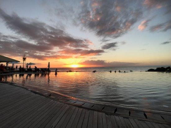 Club Med Albion Villas - Mauritius: 禅区 无边泳池 日落
