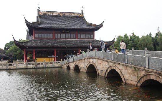 Quanfu Temple and Nanhu Garden