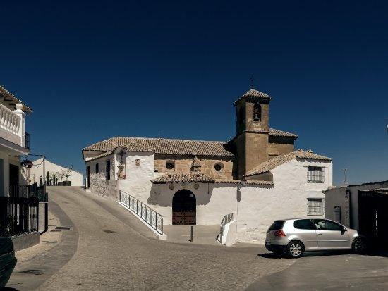 Alcala la Real, Espanha: 城堡下的Iglesia de San Juan圣胡安教堂