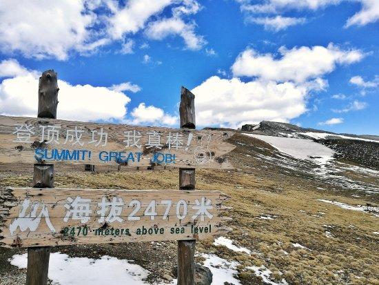 Baishan, China: 海拔2470米