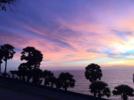 Rawai, Thailand: 紫色晚霞