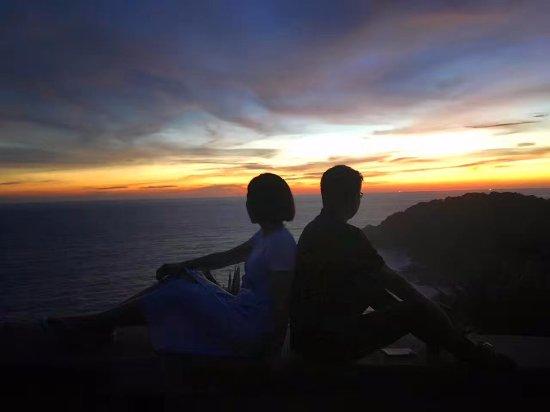 Rawai, Thailand: 日落背影