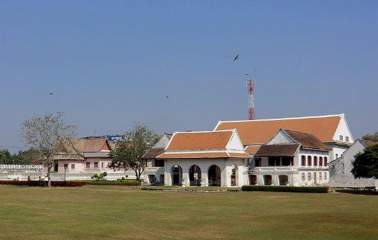 Chan Kasem National Museum : 宫殿在白墙内