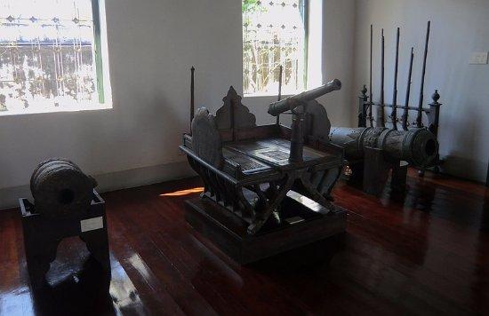 Chan Kasem National Museum : 象鞍上的火炮