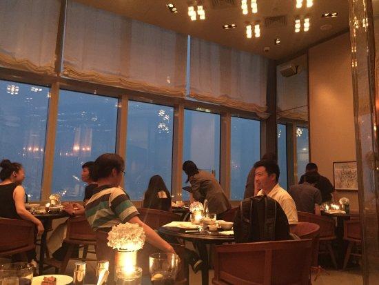 Dining Room at Park Hyatt Shanghai: 柏悦酒店餐厅