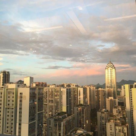 Liuzhou, China: 行政酒廊外景