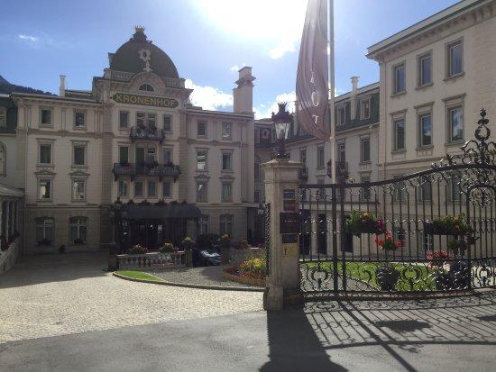 Grand Hotel Kronenhof: 漂亮吧 五星级额 肯定价格不菲