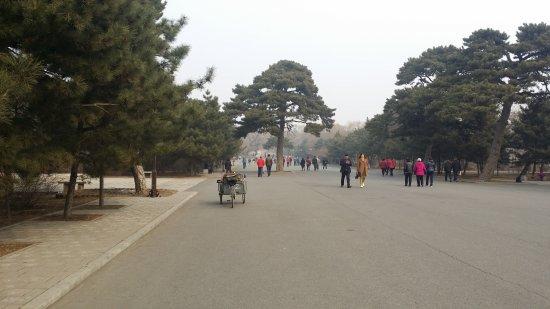 Shenyang, China: winter view 北陵公园冬景