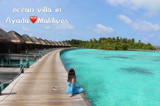 how to get to ayada maldives