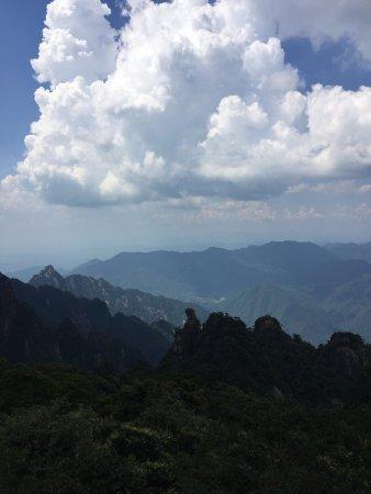 Yushan County, China: 女神峰