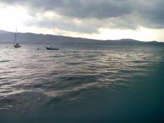 Austrian Alps, Áustria: 阴天要下雨的湖也很浪漫