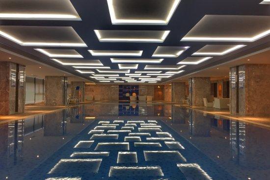 Taizhou, China: 室内泳池