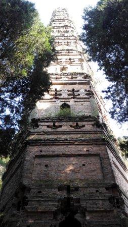 Tiantai County, China: 寺院外隋塔