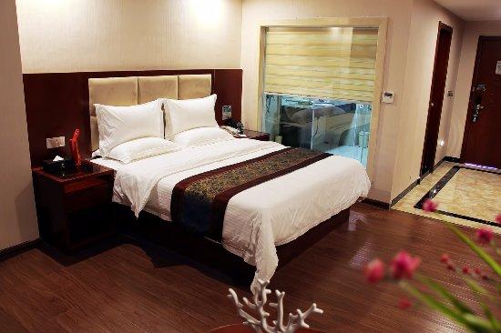 Jieyang, Κίνα: 酒店房间