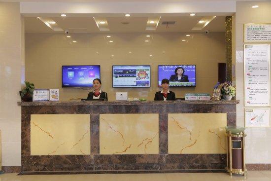 Anqing, China: 酒店吧台
