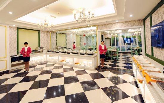 Guangyuan, Kina: 温馨典雅的早餐厅,让您拥有一个舒适的就餐环境。