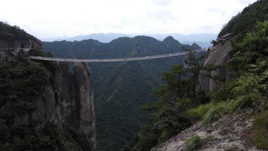 Xianju County, China: 神仙居索桥