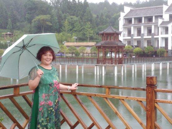 Tongzi County, Kina: 贵州遵义桐梓步行街