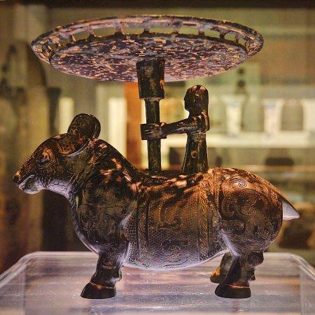 Taiyuan, Kina: 山西博物馆展品