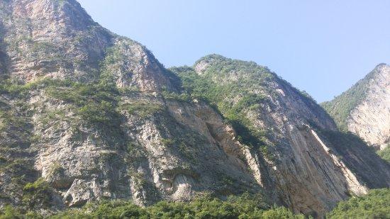 Wushan County, Chine : view