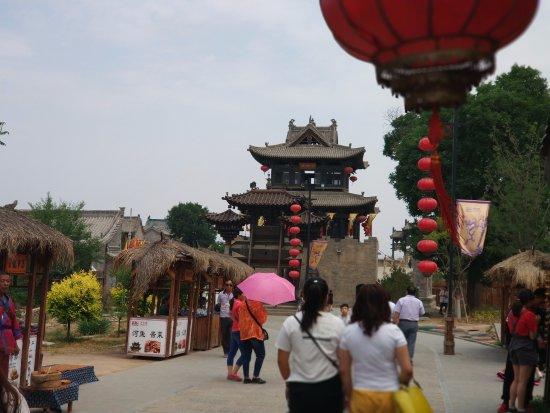 Yangqu County, China: 这是千佛阁