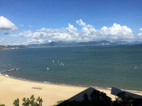 Huizhou, Kina: 小径湾艾美酒店只要去的时候对,天气好,景色都超美啊,好喜欢这里的日出,这里的云。