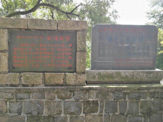 莫干山别墅群: 林海别墅,一段历史