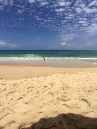 Hilton Phuket Arcadia Resort & Spa: 完美,客房服务周到,自己洗了衣服,还提供了晒衣架,客房服务可以说是完美,还帮我们桌子收拾干净,我们去海边特地没有带戒指,还特意帮我们把戒指放在小方巾上,太细致了,酒店环境也是没的说,房间是海景