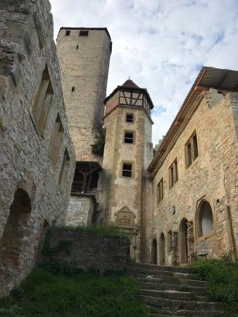 Neckarzimmern, Germania: Hotel - Restaurant - Burg Hornberg