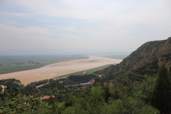 Ruicheng County, Cina: 九曲黄河真担心有一天会干涸