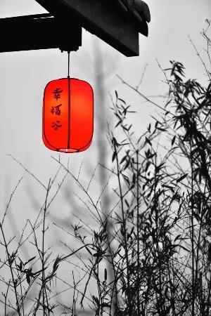 Ziyang, China: 屋檐一角