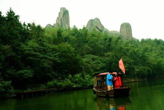 Anqing, China: 牛郎和织女演出