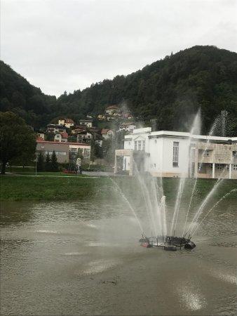 Hotel Thermana Park Lasko: 有点小瑞士的赶脚...